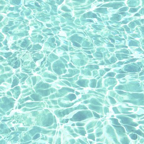 Tessuto in cotone americano - acqua - piscina - Filomania