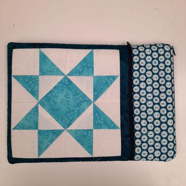 Box Creativa - portatablet - appunti - azzurro - Filomania