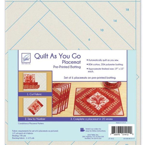 Quilt as you go - Casablanca - Filomania